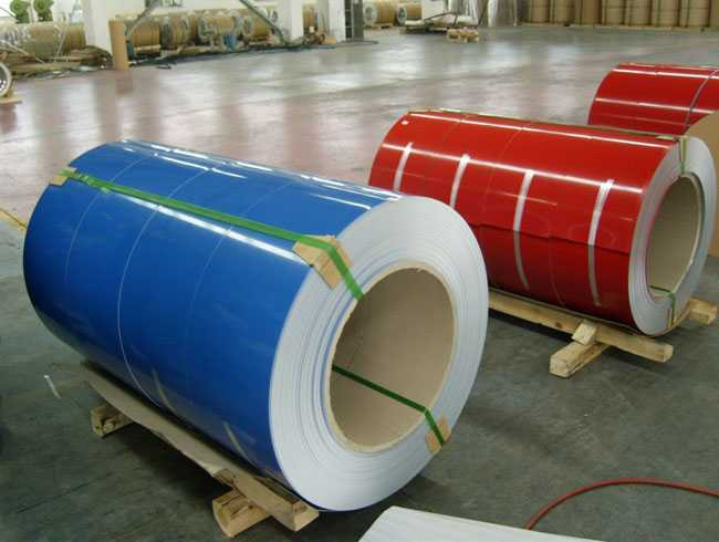 PREPAINTED GALVANIZED COILS (Color Coated Coils)